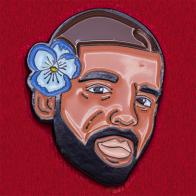 Дизайнерский значок с рэппером Drake от Sad Truth Supply