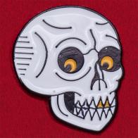 """Дизайнерский значок """"Угрожающий череп"""" от Sad Truth Supply"""