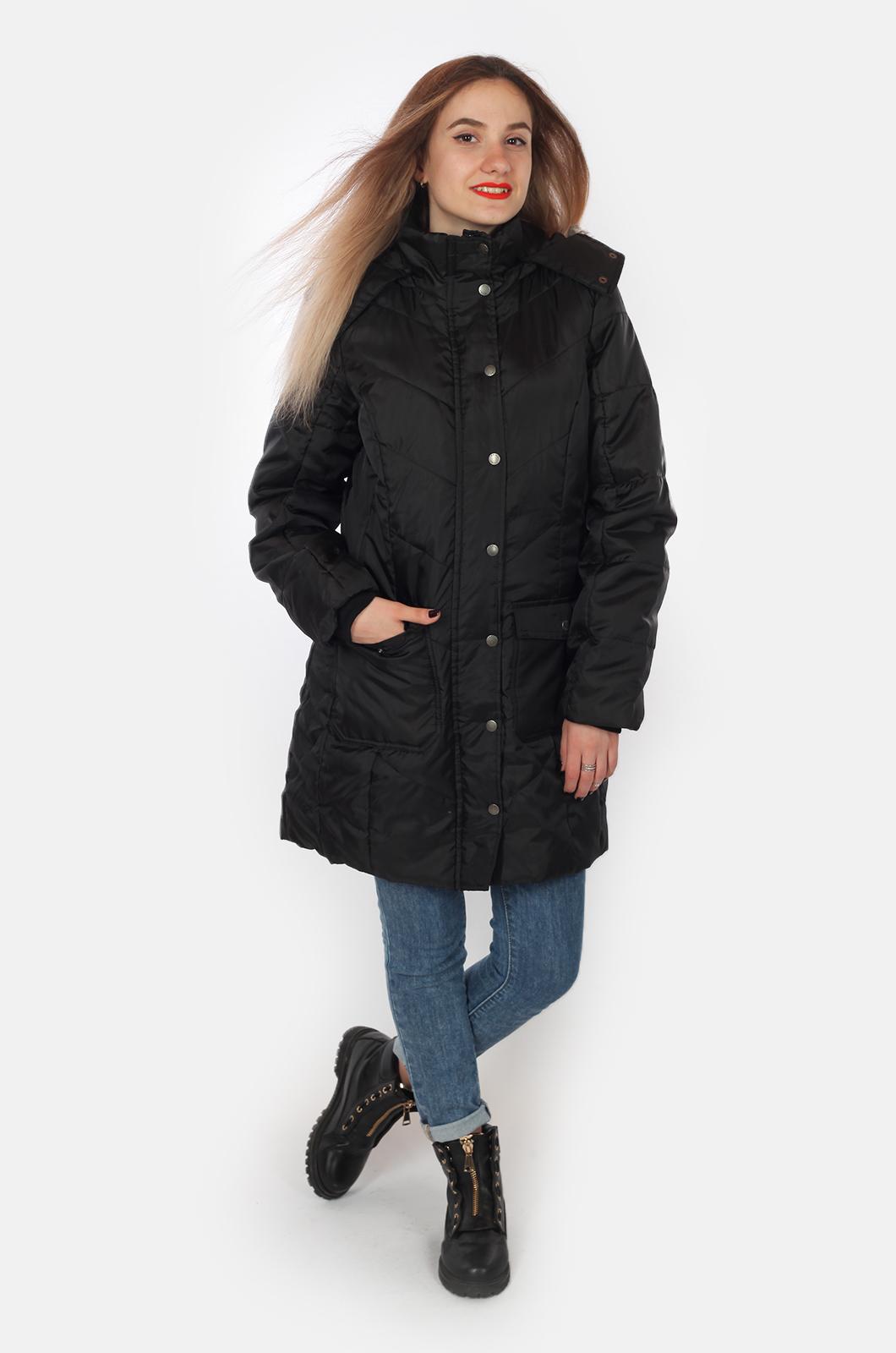 Удлиненное пальто для девушек на осень-зиму