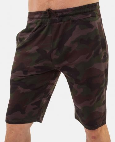 Милитари ХИТ! Мужские длинные шорты IZ-XO4-ARMY.