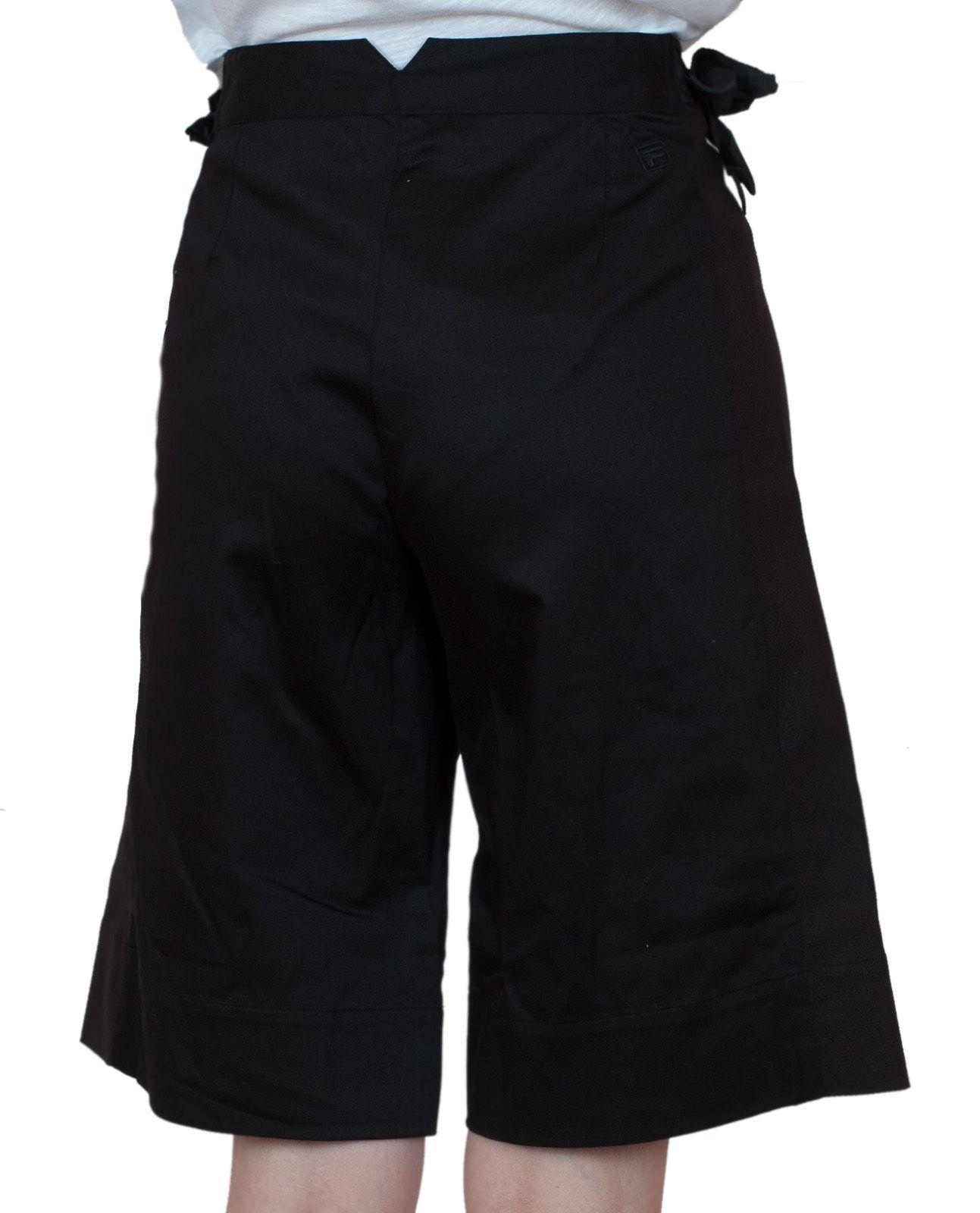 Длинные женские шорты Fila - вид сзади