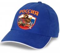 """Для истинных патриотов и фанатов - классная кепка с медведем """"Россия""""!"""