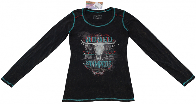 Для смелых девчонок - эксклюзивная кофточка Rodeo Stampede от Panhandle
