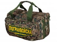 Дорожная армейская сумка с нашивкой Погранвойска - купить онлайн
