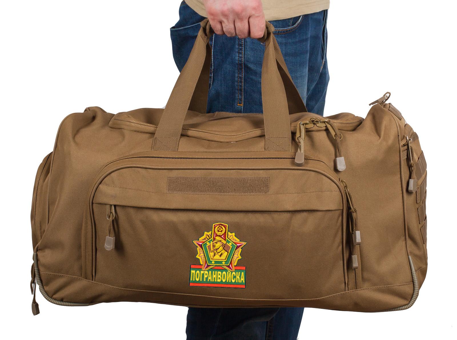 Купить дорожную большую сумку Погранвойска 08032B Coyote по экономичной цене