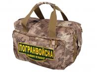 Дорожная камуфляжная сумка Погранвойска - купить онлайн