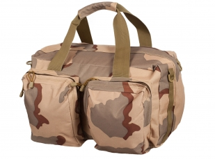 Дорожная камуфляжная сумка с нашивкой Рожден в СССР - заказать с доставкой