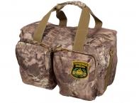 Дорожная камуфляжная сумка с нашивкой Танковые Войска