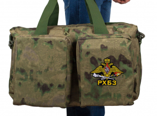 Дорожная камуфляжная сумка с символикой РХБЗ купить в подарок