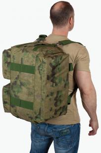 Дорожная камуфляжная сумка с символикой РХБЗ купить с доставкой