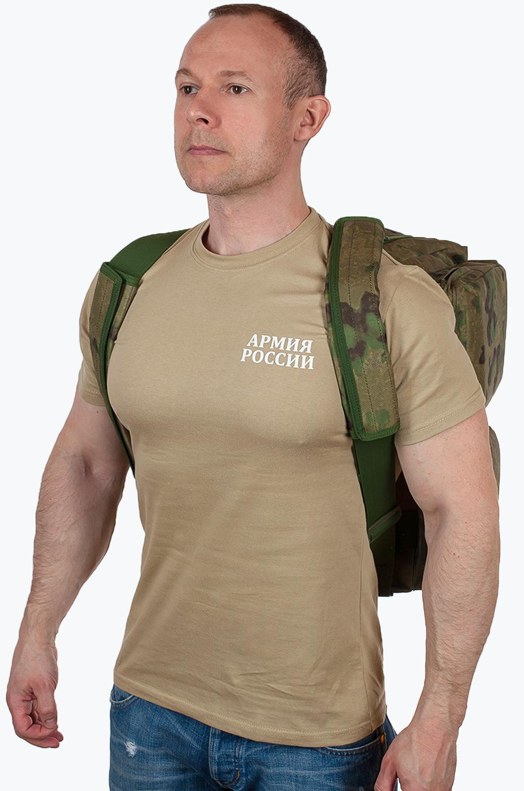 Дорожная камуфляжная сумка с символикой РХБЗ купить оптом