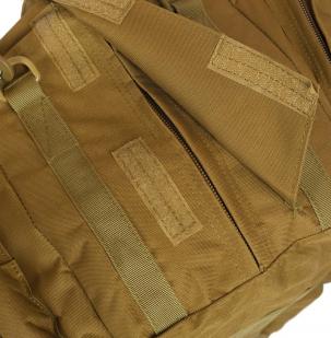 Дорожная мужская сумка с нашивкой Флот России