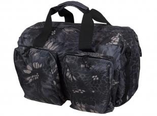 Дорожная мужская сумка с нашивкой Лучший Рыбак - купить в подарок