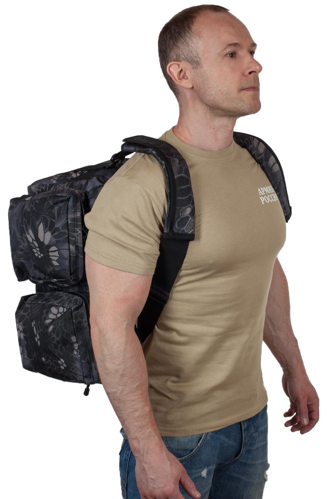 Дорожная мужская сумка с нашивкой Лучший Рыбак - заказать выгодно