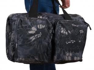 Дорожная мужская сумка с нашивкой Лучший Рыбак - заказать оптом
