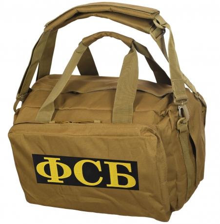 Дорожная сумка-рюкзак с нашивкой ФСБ
