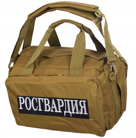 Дорожная сумка-рюкзак с нашивкой Росгвардия