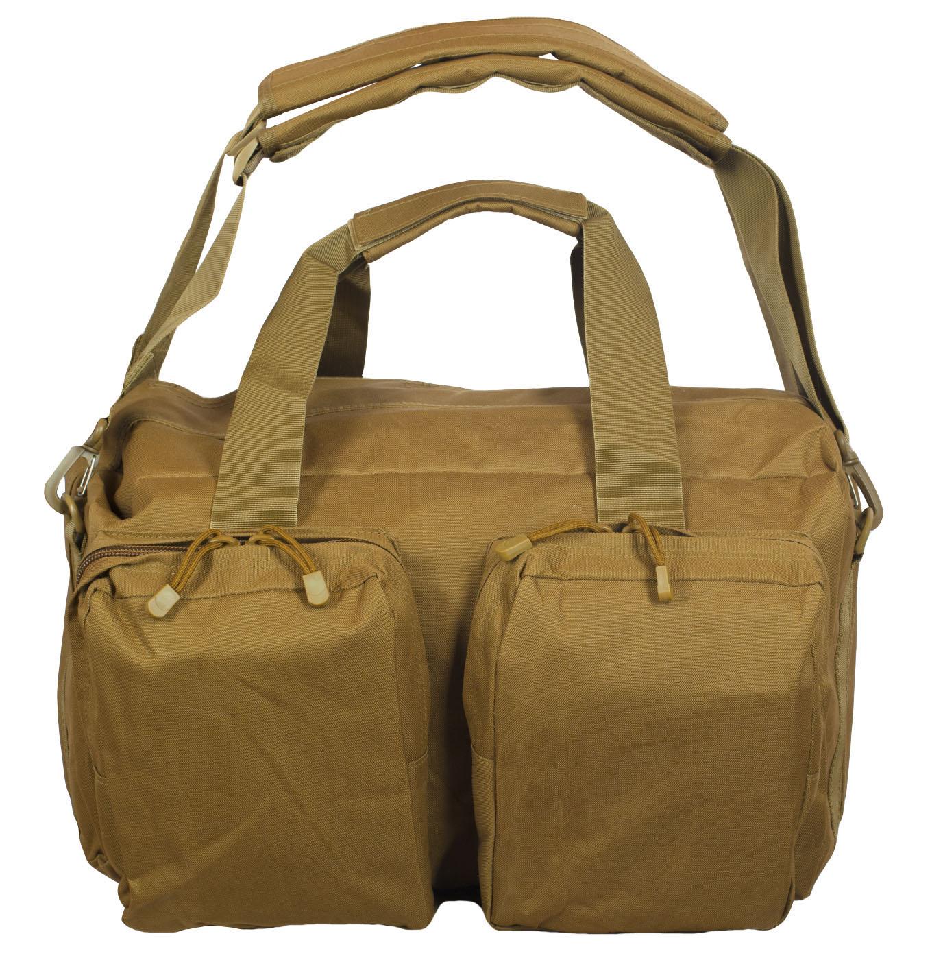 Дорожная сумка-рюкзак с нашивкой Русская Охота - купить в подарок