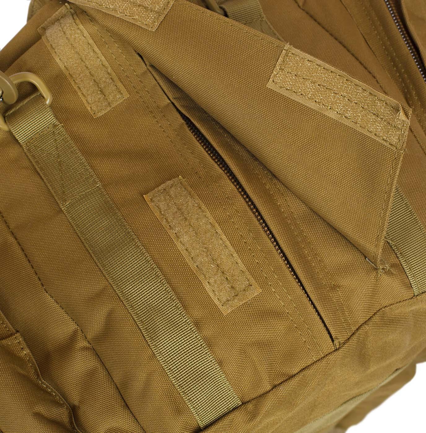 Дорожная сумка-рюкзак с нашивкой Русская Охота - заказать оптом