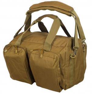 Дорожная сумка-рюкзак с нашивкой Русская Охота - заказать с доставкой