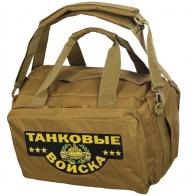 Дорожная сумка-рюкзак с нашивкой Танковые Войска