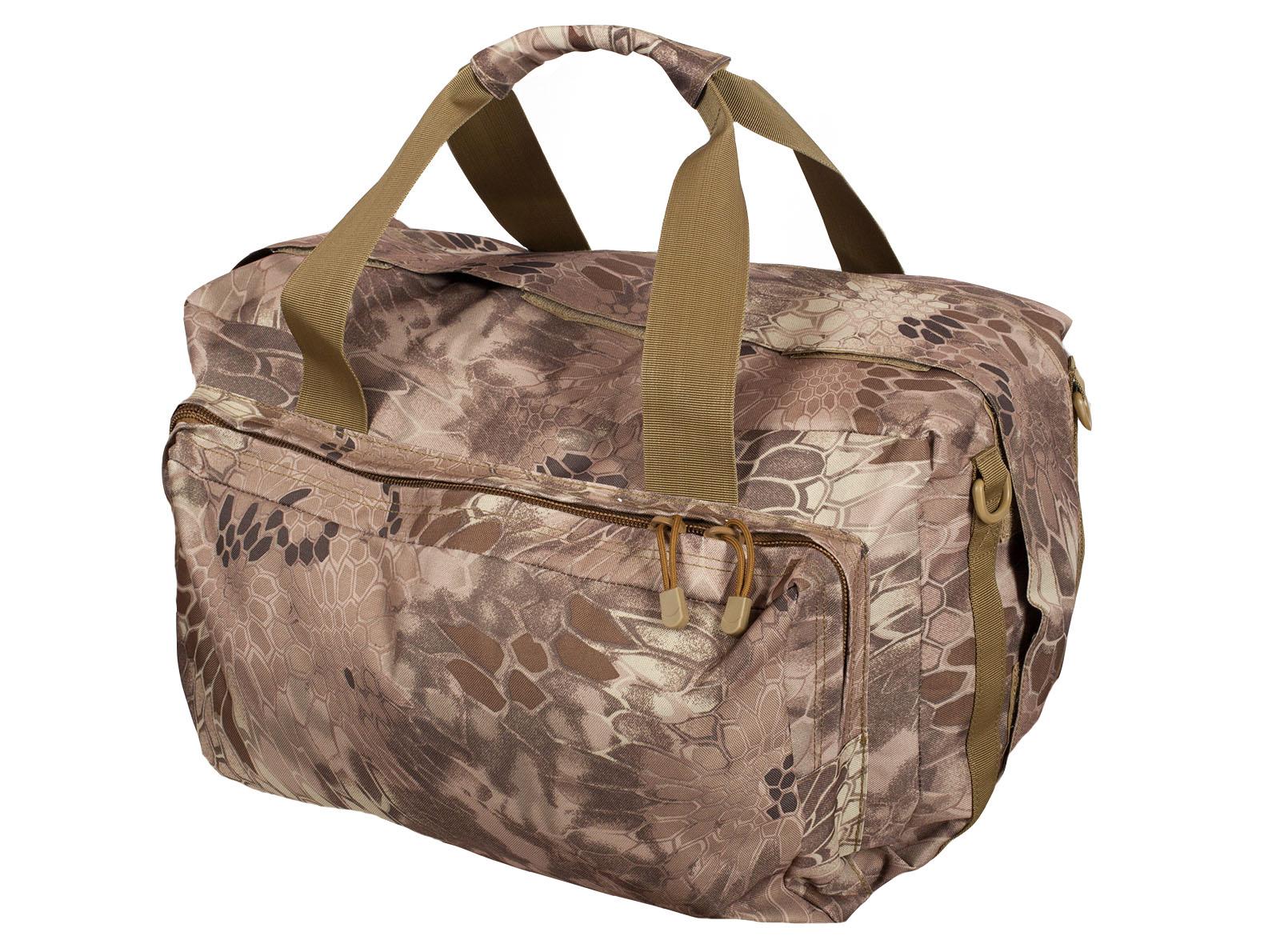 Дорожная сумка в камуфляже Kryptek Nomad с шевроном Рыболовного спецназа заказать с доставкой или самовывозом