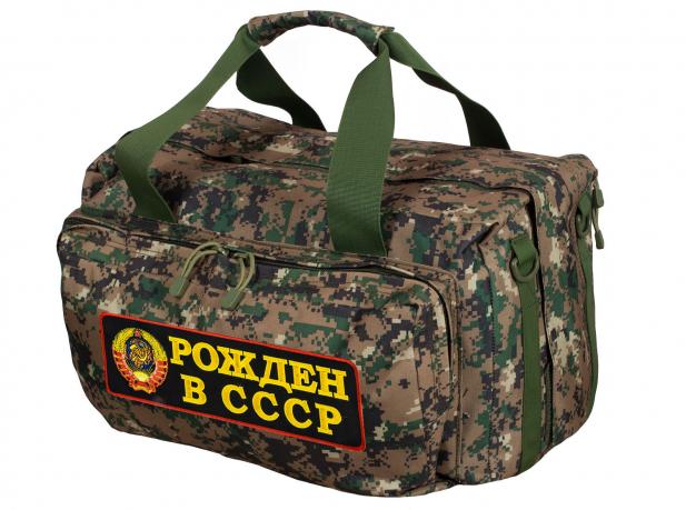 Дорожная тактическая сумка-баул Рожден в СССР - купить по выгодной цене