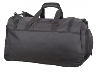 Дорожная темно-серая сумка с нашивкой Танковые Войска 08032B - купить по низкой цене