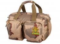 Дорожная военная сумка с нашивкой Погранвойск