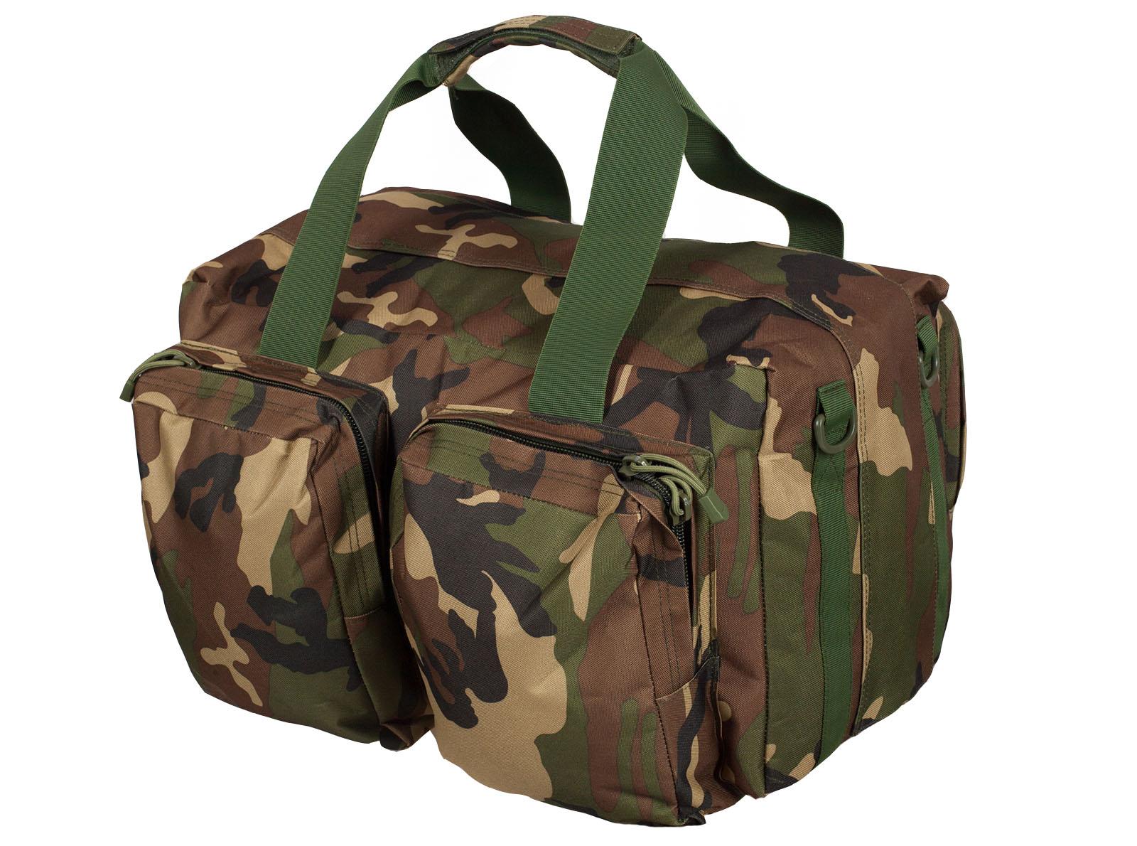 Дорожная военная сумка с нашивкой ПС