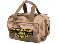 Дорожная военная сумка Танковые Войска