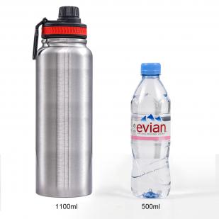 Дорожный металлический термос на 1,1 литра