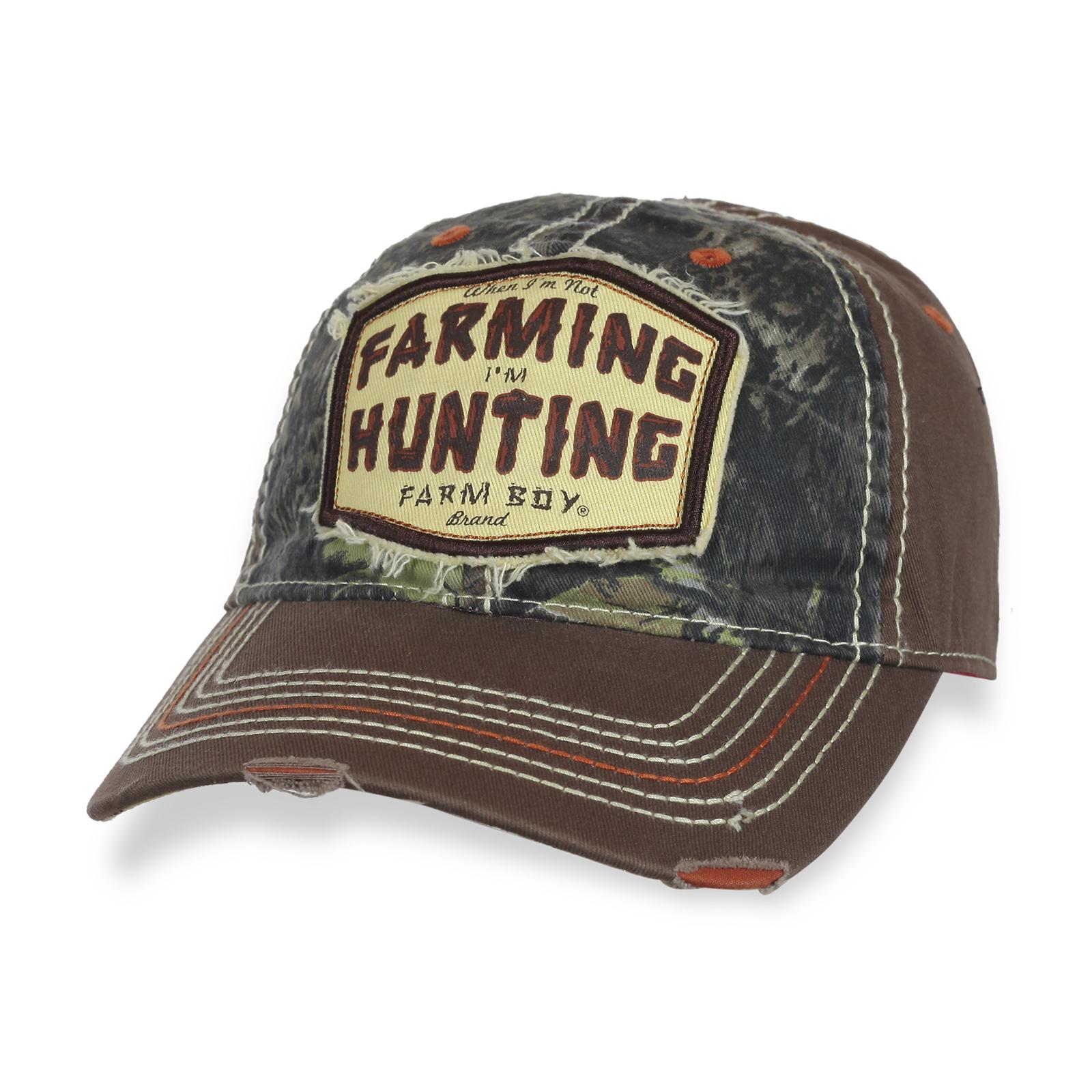 Достойная бейсболка Farming Hunting.