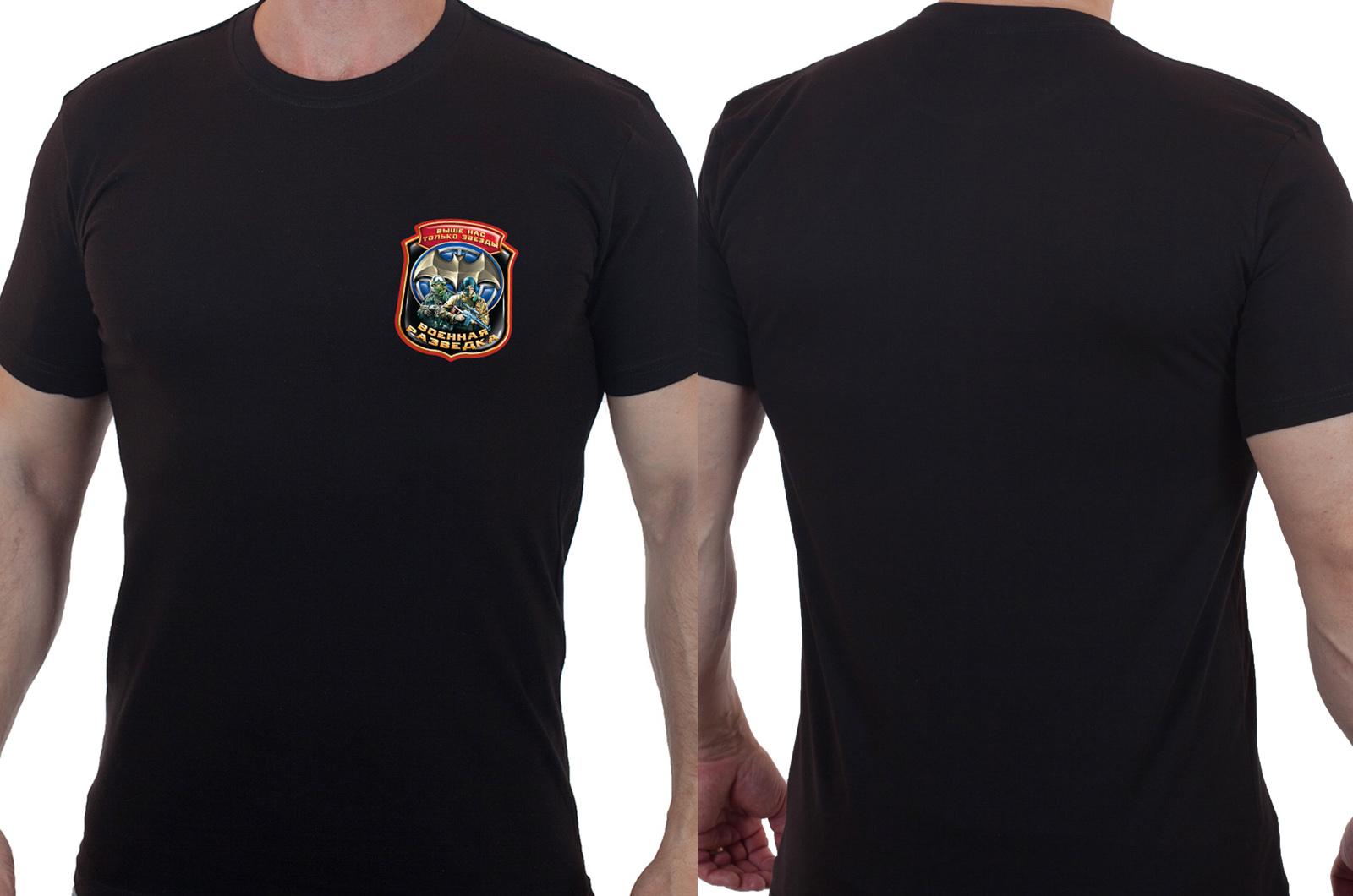 Достойная футболка Военная разведка.