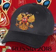 Достойная мужская хлопковая кепка с оригинальным принтом Двуглавого золотого орла, которую Вы не купите нигде, по самой низкой цене. Покупайте лучшее!