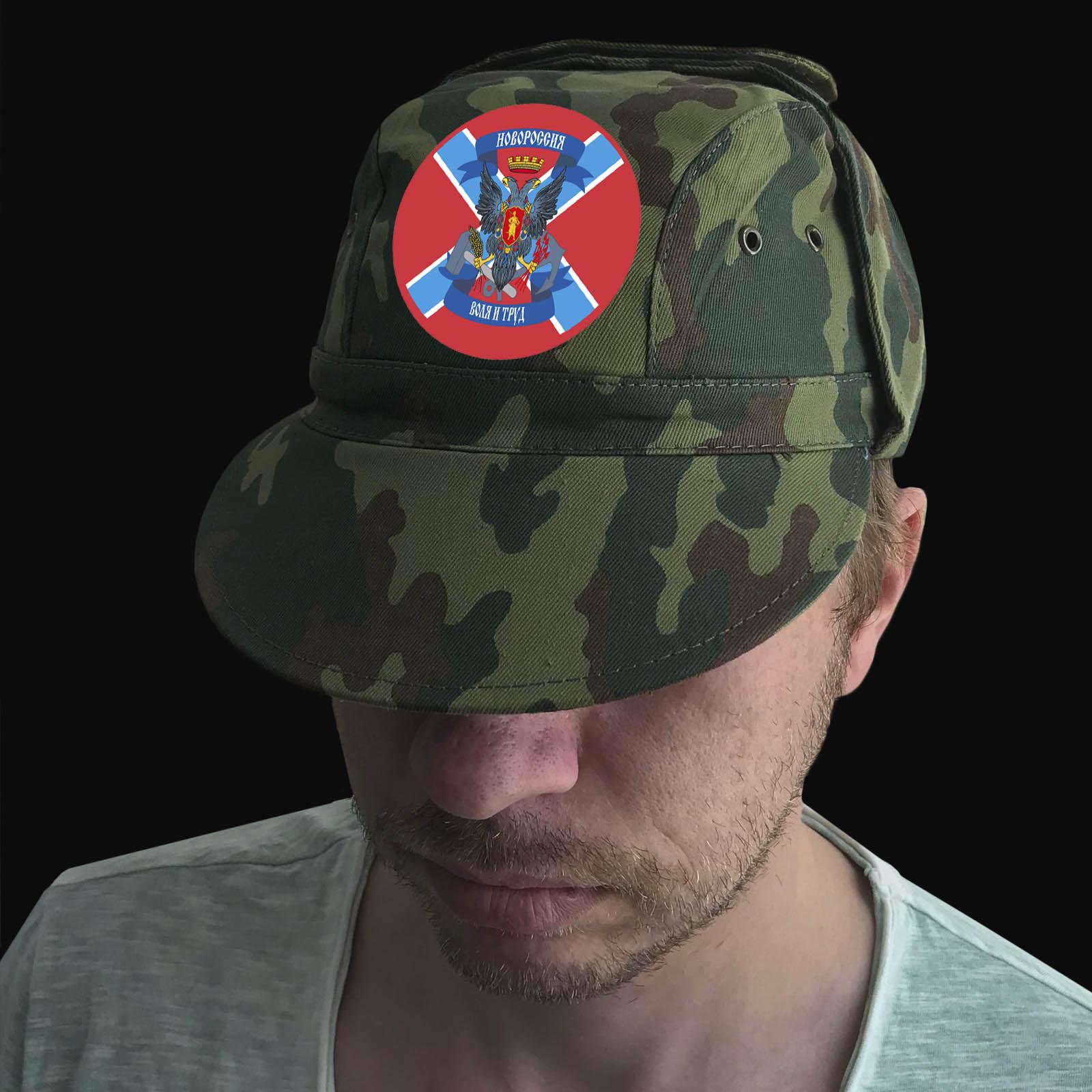 """Достойная мужская кепка """"Новороссия. Воля и труд"""""""