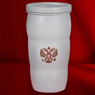 Достойная термокружка с гербом Российской Федерации