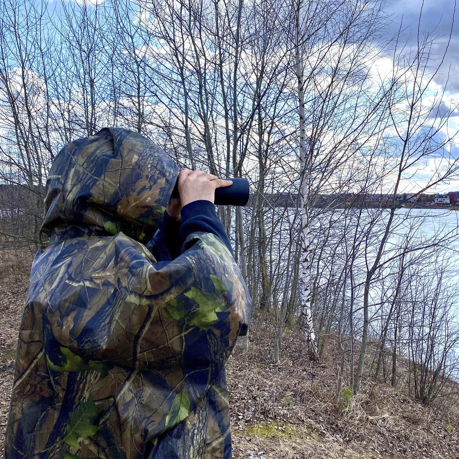 Дождевик для охоты и рыбалки Realtree Camo - с доставкой