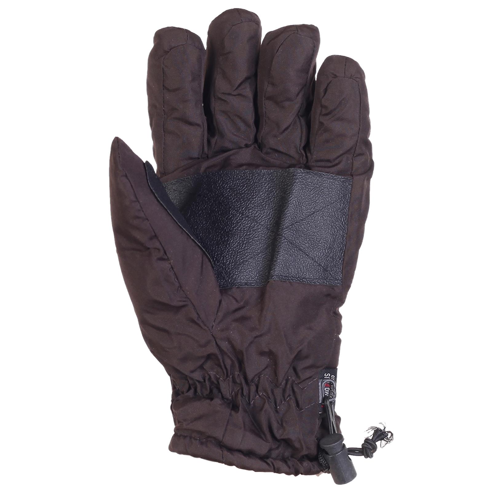 Дутые теплые перчатки Termo Plus
