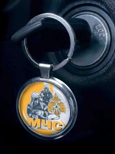 Двухсторонний брелок МЧС для авто ключей с доставкой