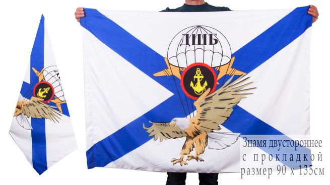 Двухсторонний флаг ДШБ Морской пехоты