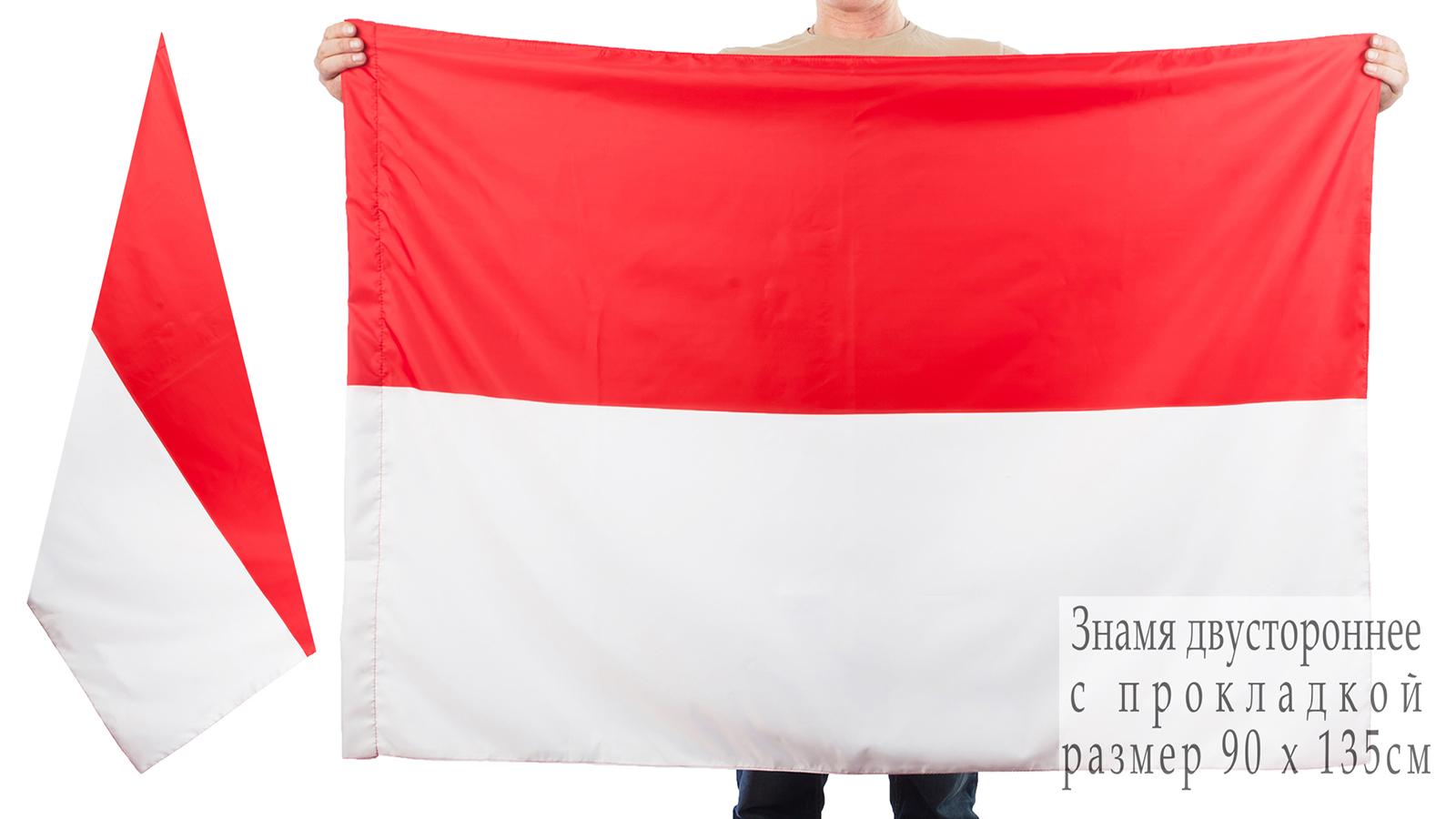Двухсторонний флаг Индонезии
