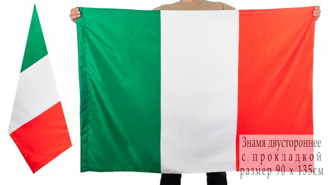Двухсторонний флаг Италии