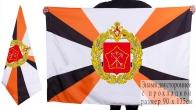 Двухсторонний флаг Ленинградского военного округа