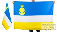 Флаг Республики Бурятия двухсторонний