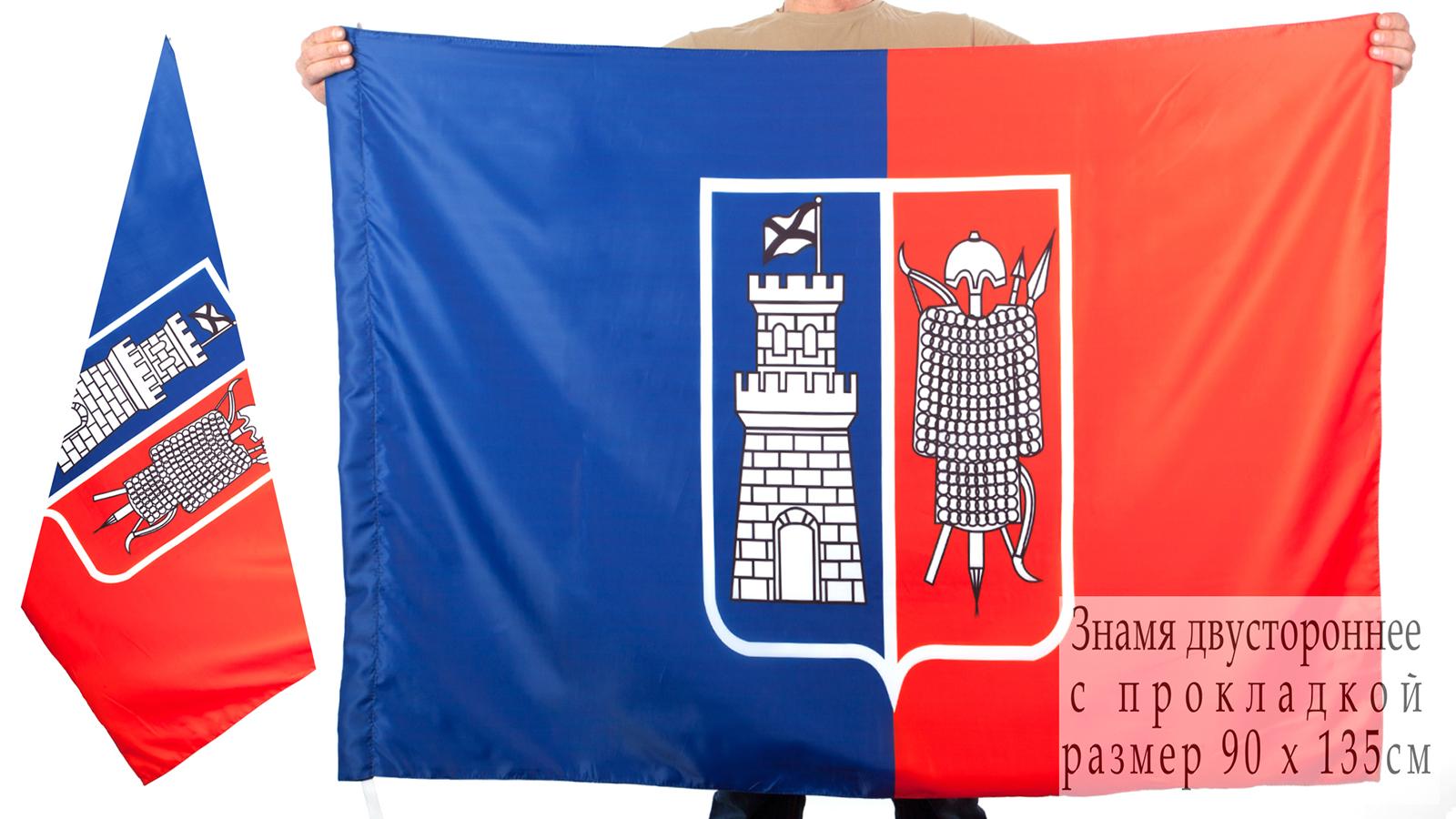Двухсторонний флаг Ростова-на-Дону