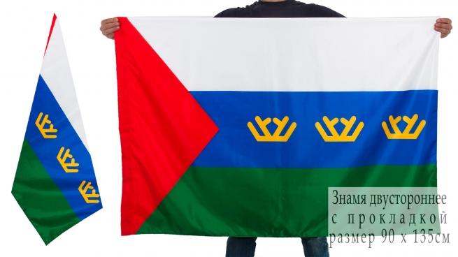 Двухсторонний флаг Тюменской области