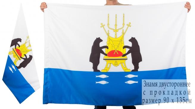 Двухсторонний флаг Великого Новгорода