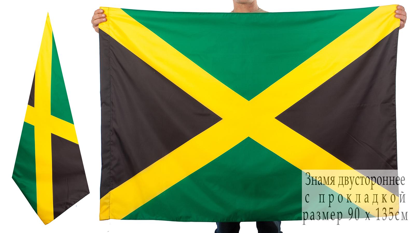 Двухсторонний флаг Ямайки
