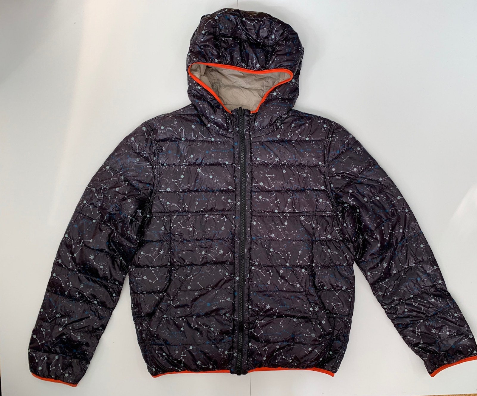 Двухсторонняя мужская куртка